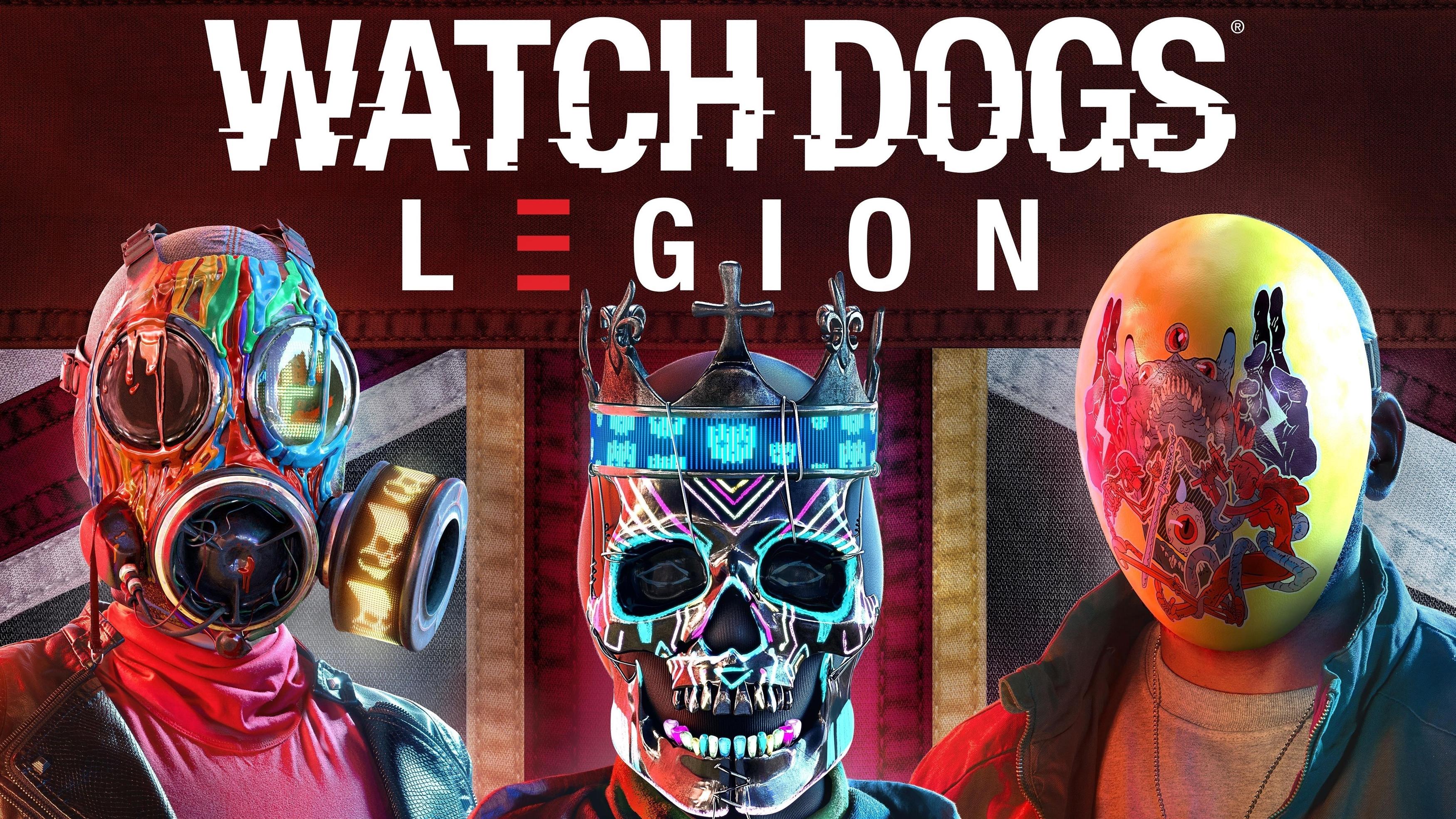 Сторожевые собаки легион игра обои скачать