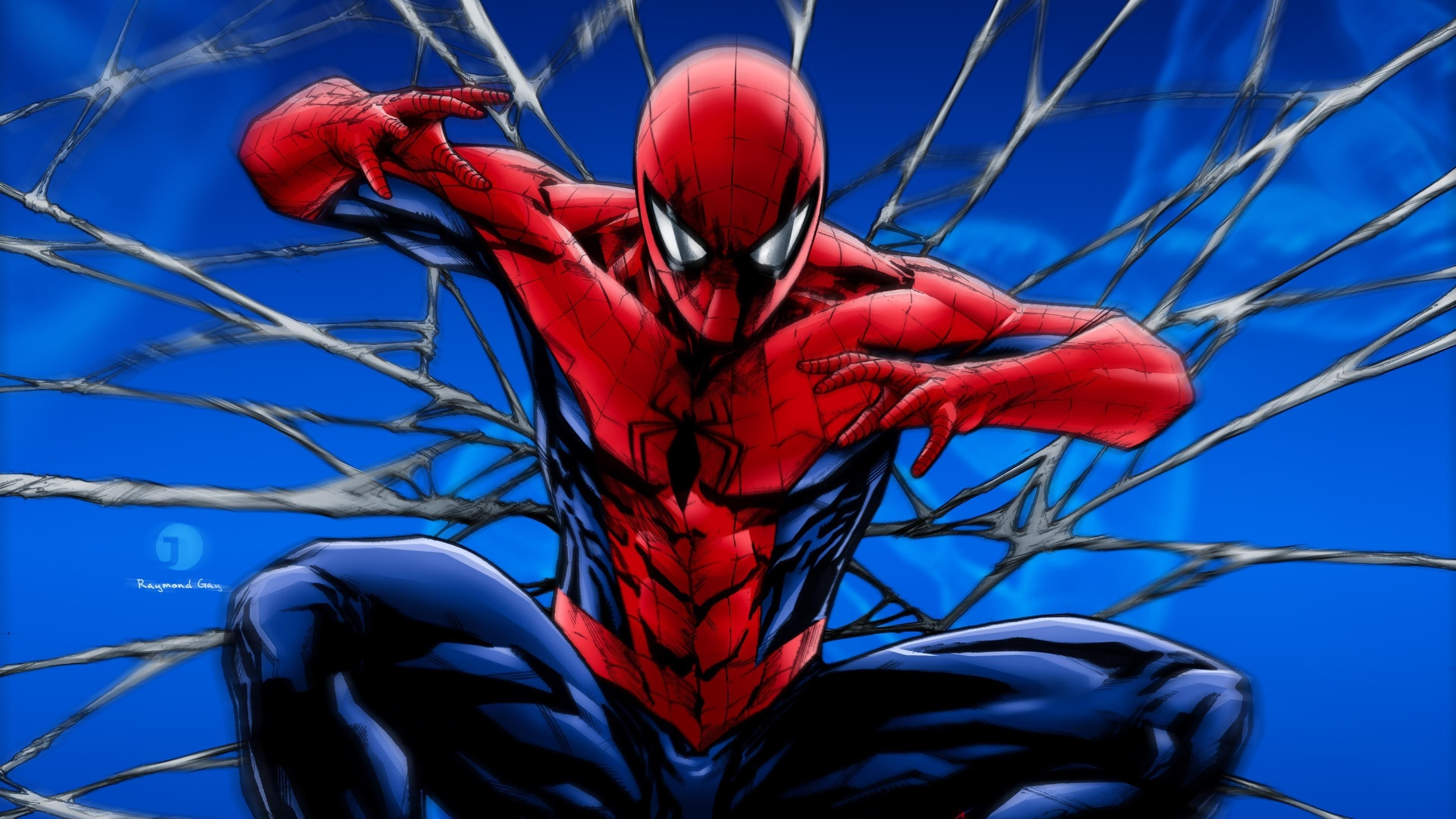 Человек-паук обои скачать