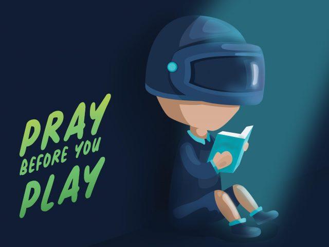Pubg молитесь, прежде чем играть
