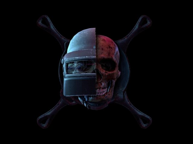 Pubg череп &амп; шлем