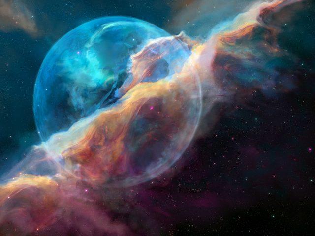 Пузыря или NGC 7635 туманность
