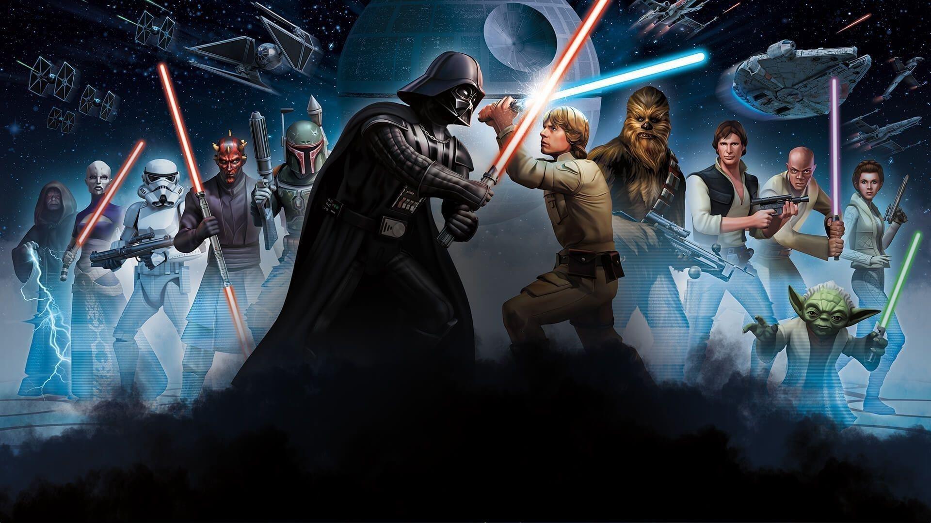 Команда Звездных войн обои скачать