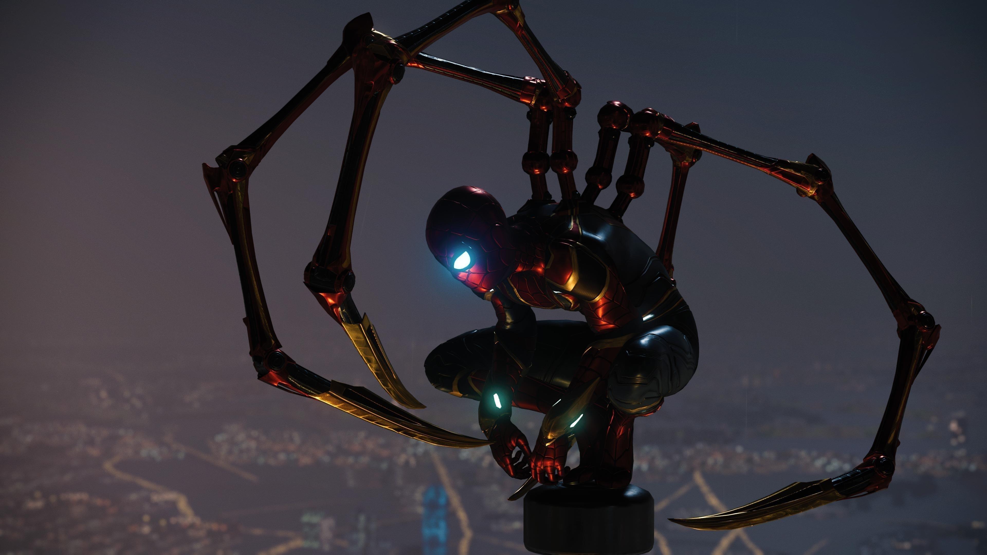 Железный Человек-паук обои скачать