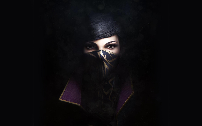 В Dishonored 2-Эмили обои скачать