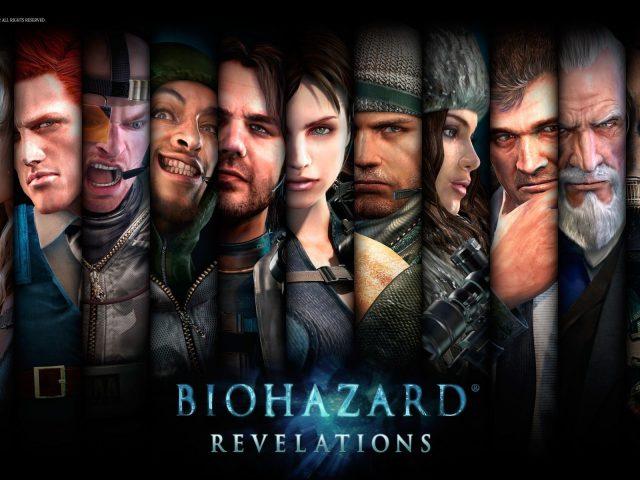 Resident Evil: Revelations,  characters,  персонажи,  Обитель зла: Откровения