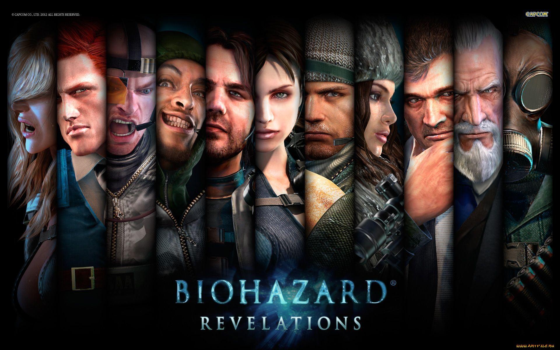 Resident Evil: Revelations, characters, персонажи, Обитель зла: Откровения обои скачать