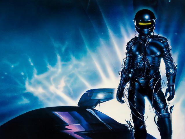 Плакат The wraith 1986 года