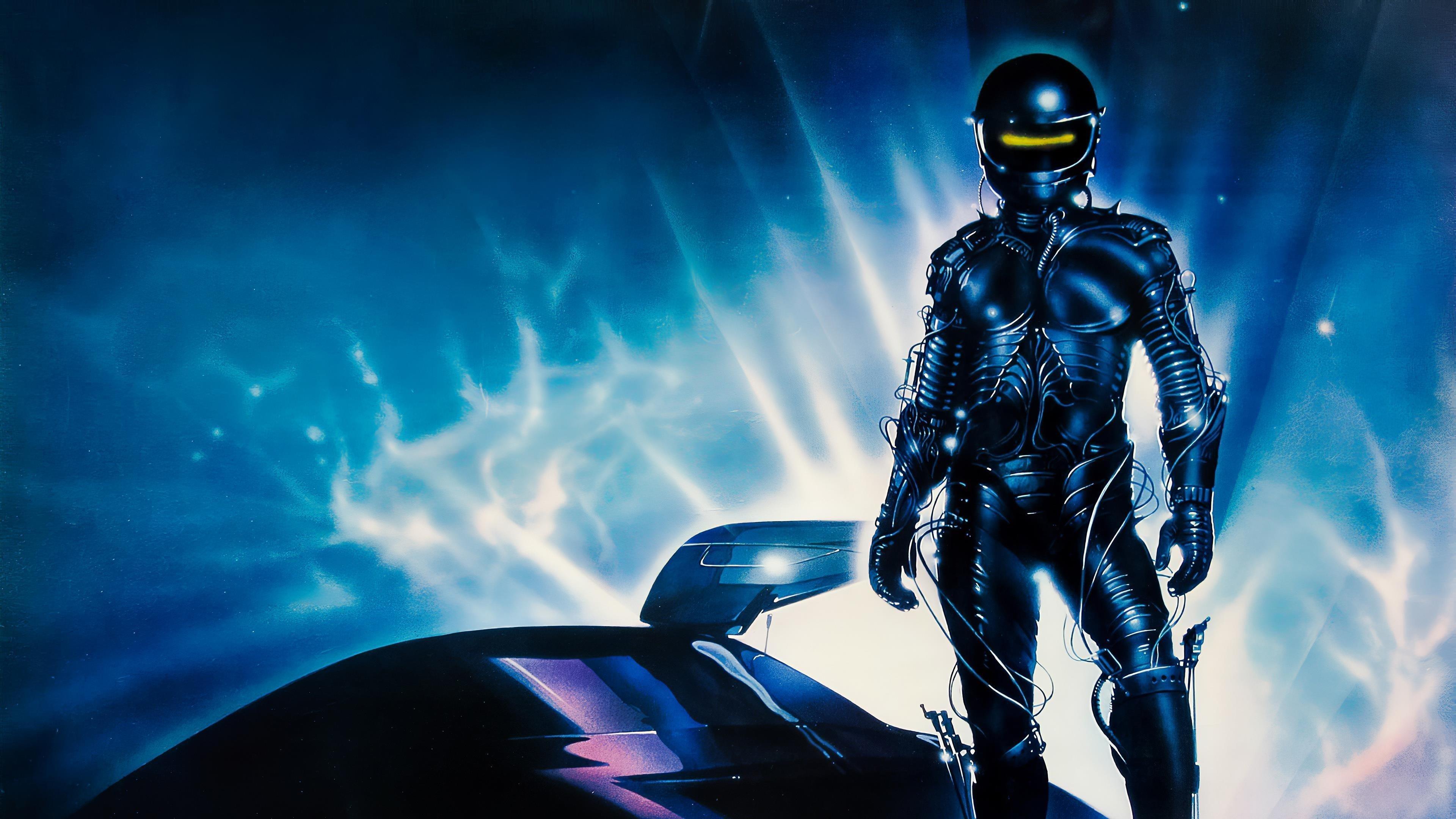Плакат The wraith 1986 года обои скачать