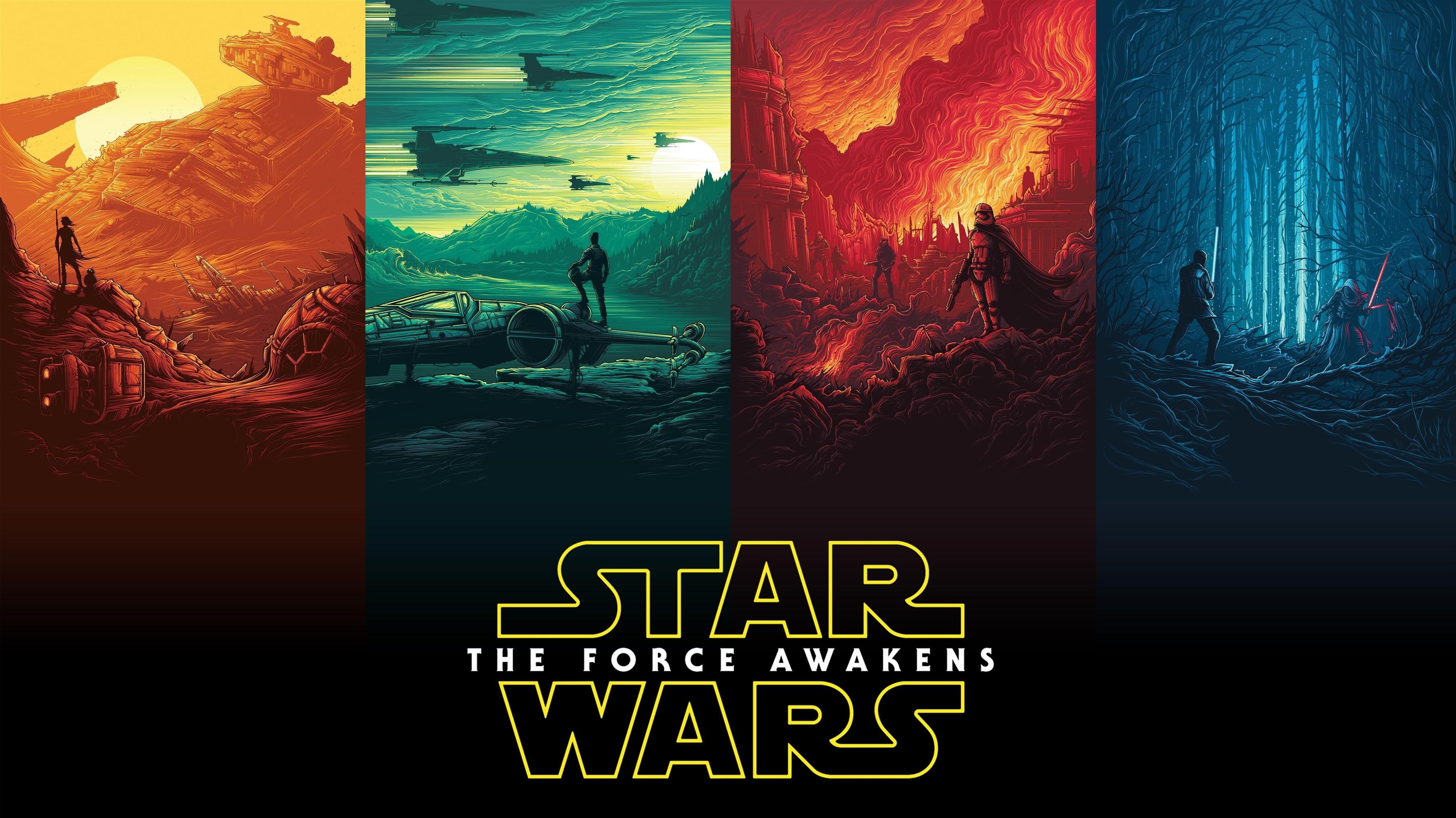 Искусство названия Звездных войн обои скачать
