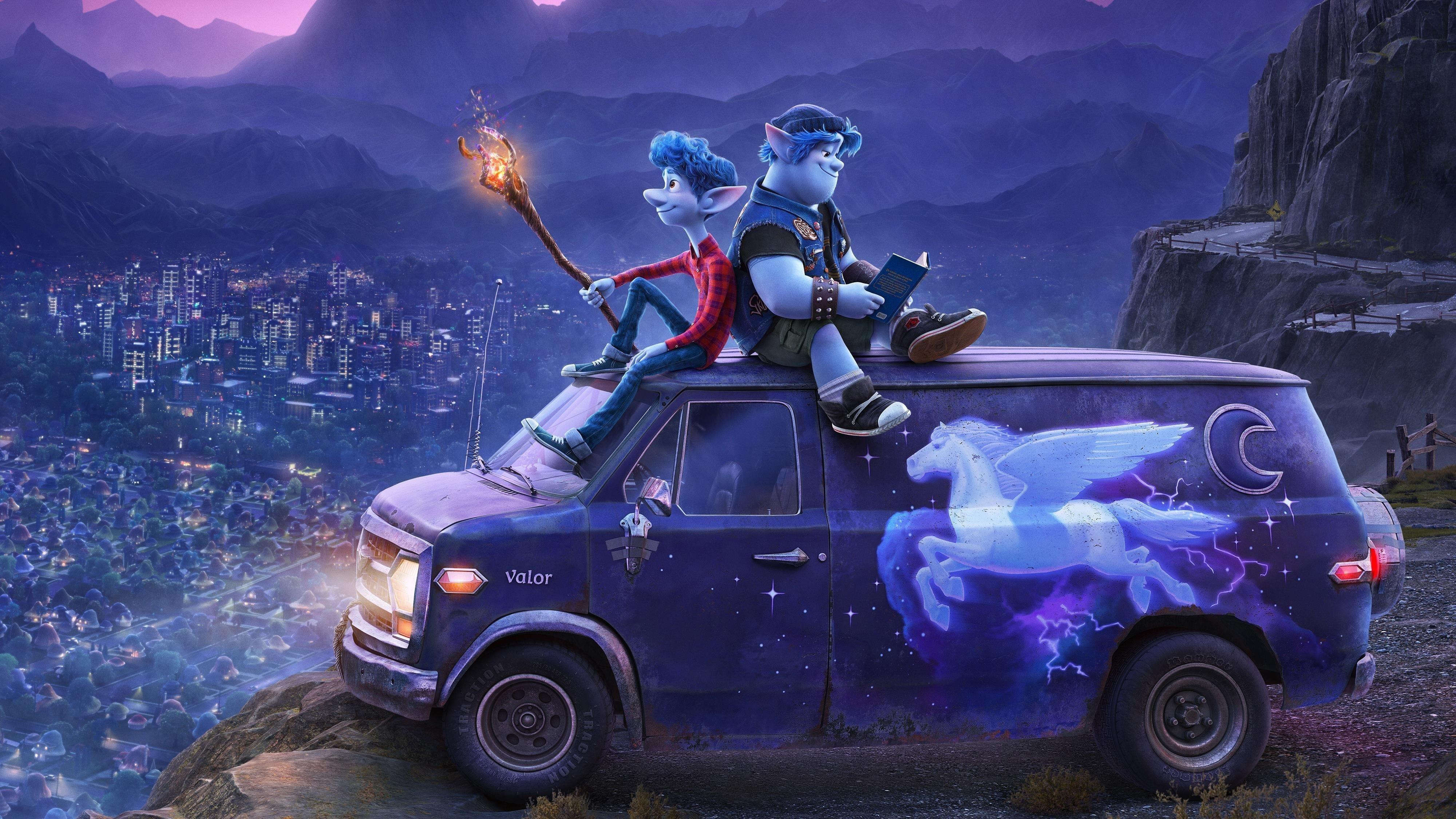 Вперед 2020 анимация pixar обои скачать