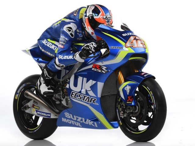 Сузуки мотоцикл MotoGP в 4к.
