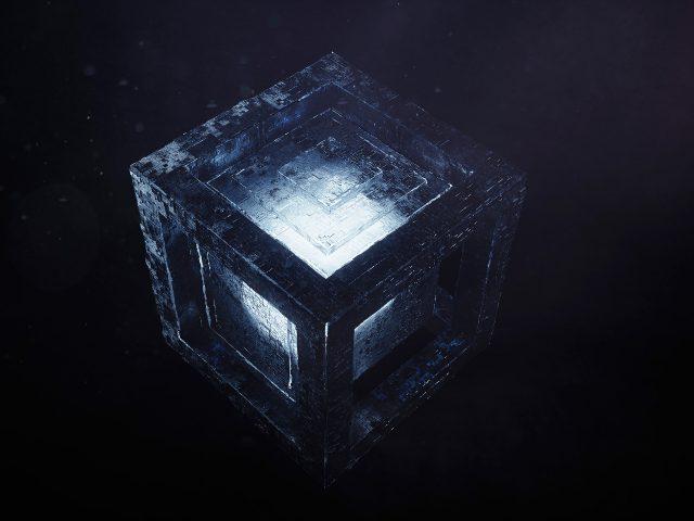 Светлый кубик
