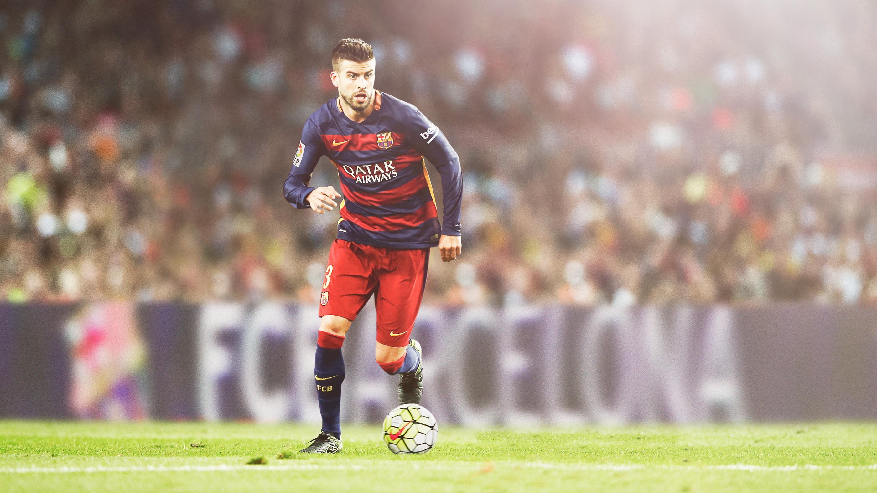 Жерар пике Барселона обои скачать