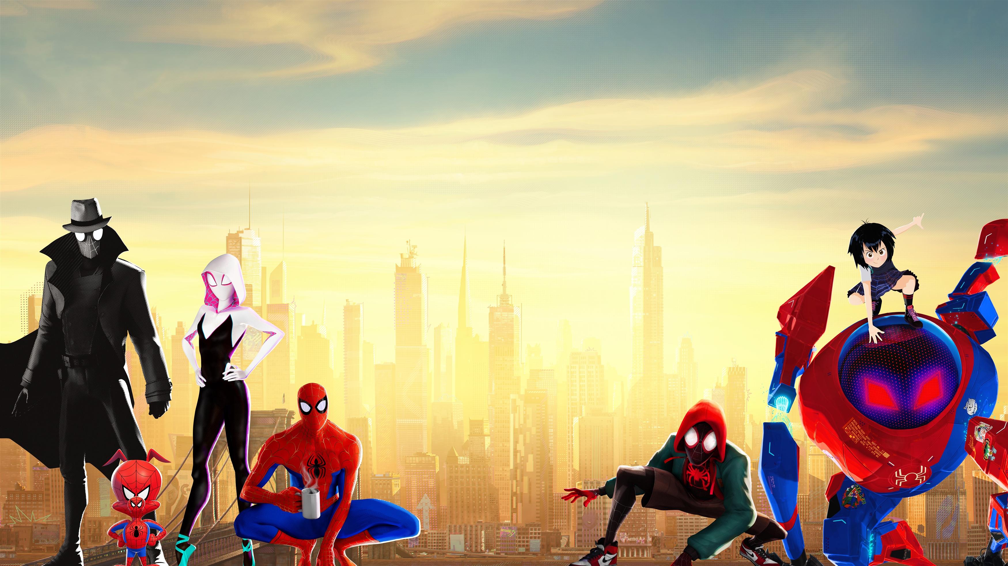 Человек-паук в стихах паука обои скачать