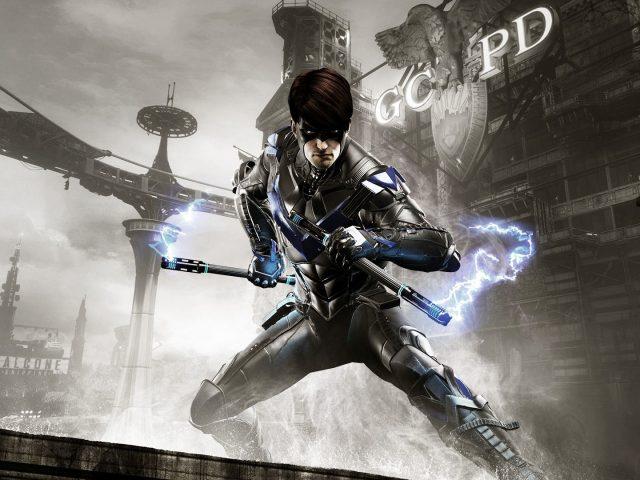 Бэтмен Arkham рыцарь Nightwing