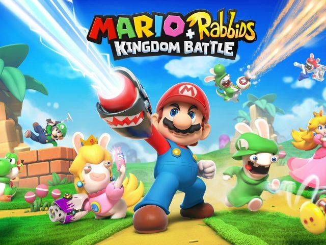 Марио кролики битва королевство.