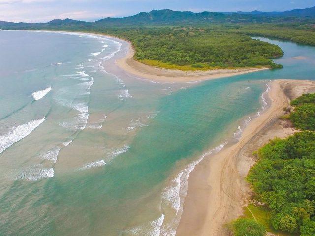Земля береговая линия пляж