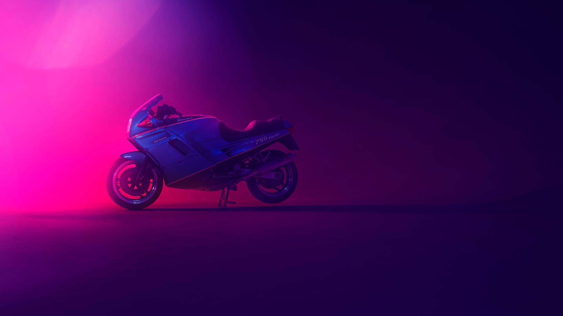 Ducati 750 paso обои скачать