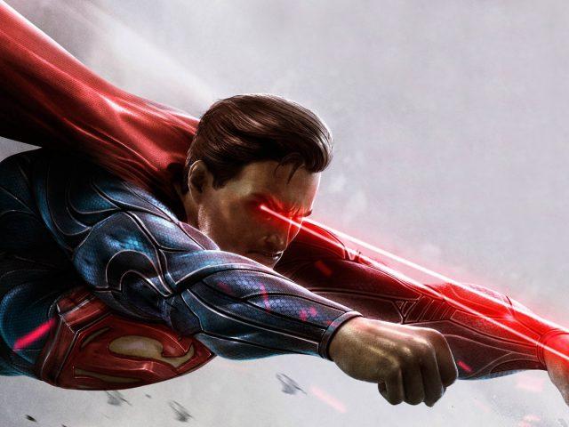 Произведение искусства супермена