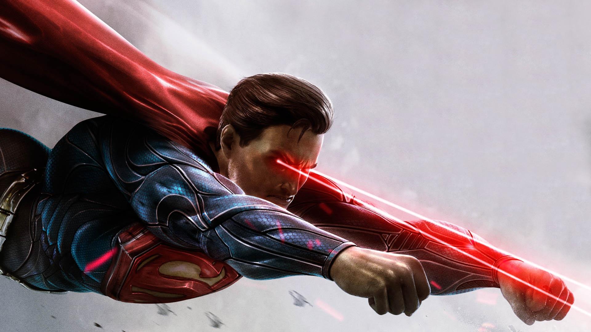 Произведение искусства супермена обои скачать