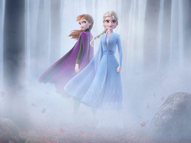 Замороженные 2 Эльза & Анна
