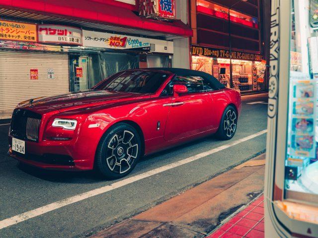 Rolls-royce dawn black badge 2021 автомобили