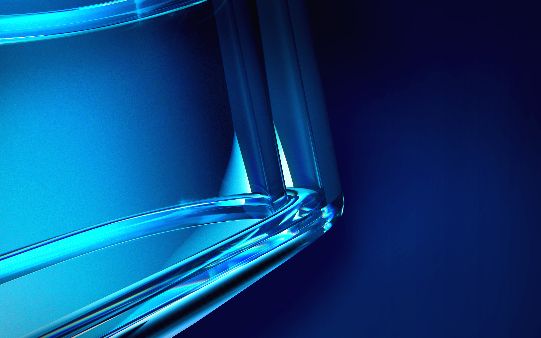 Голубой кристалл обои скачать