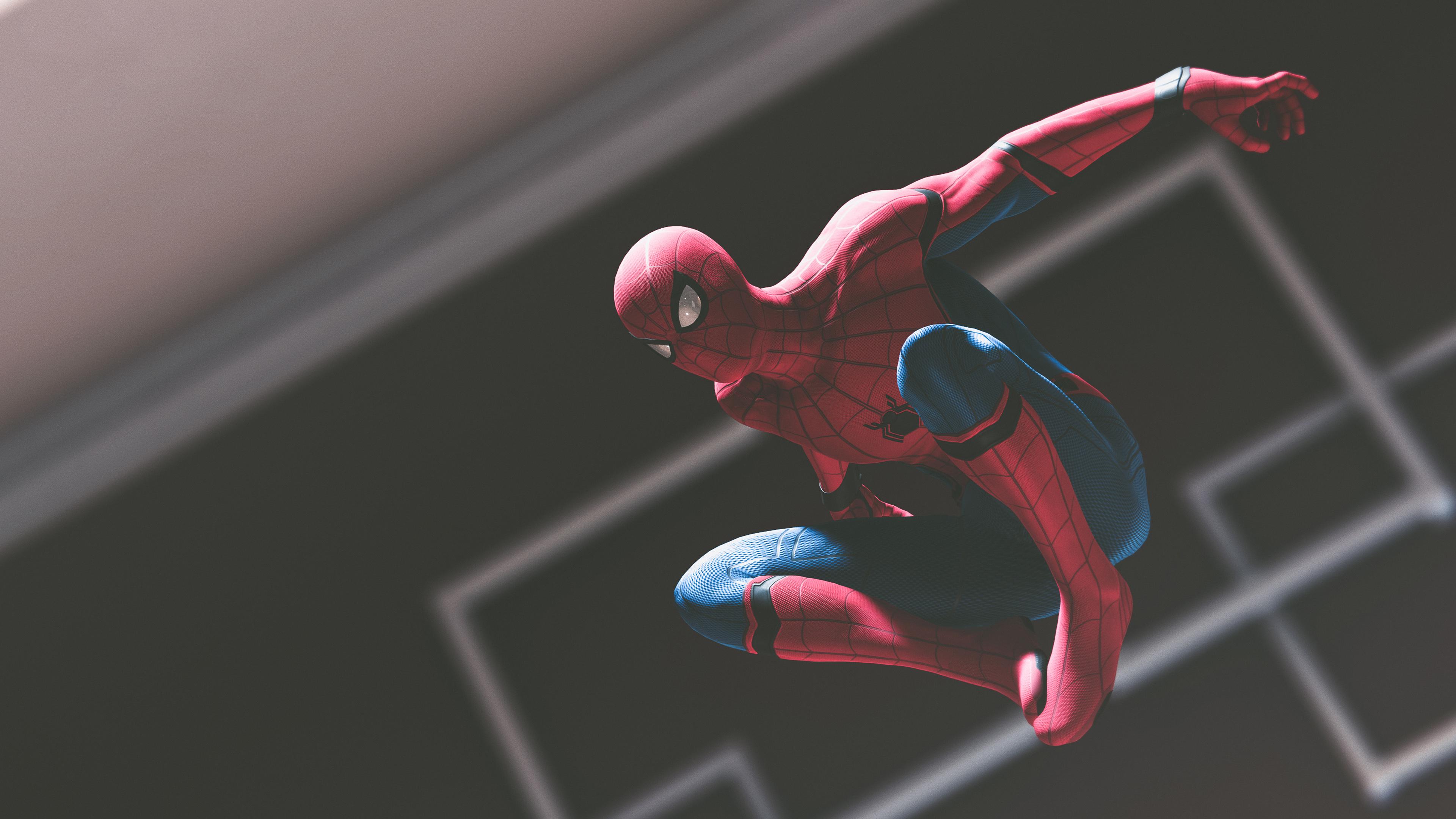 Человек-паук игра ps4 обои скачать