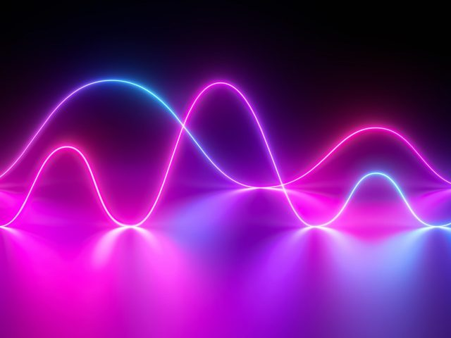 Неоновые волны