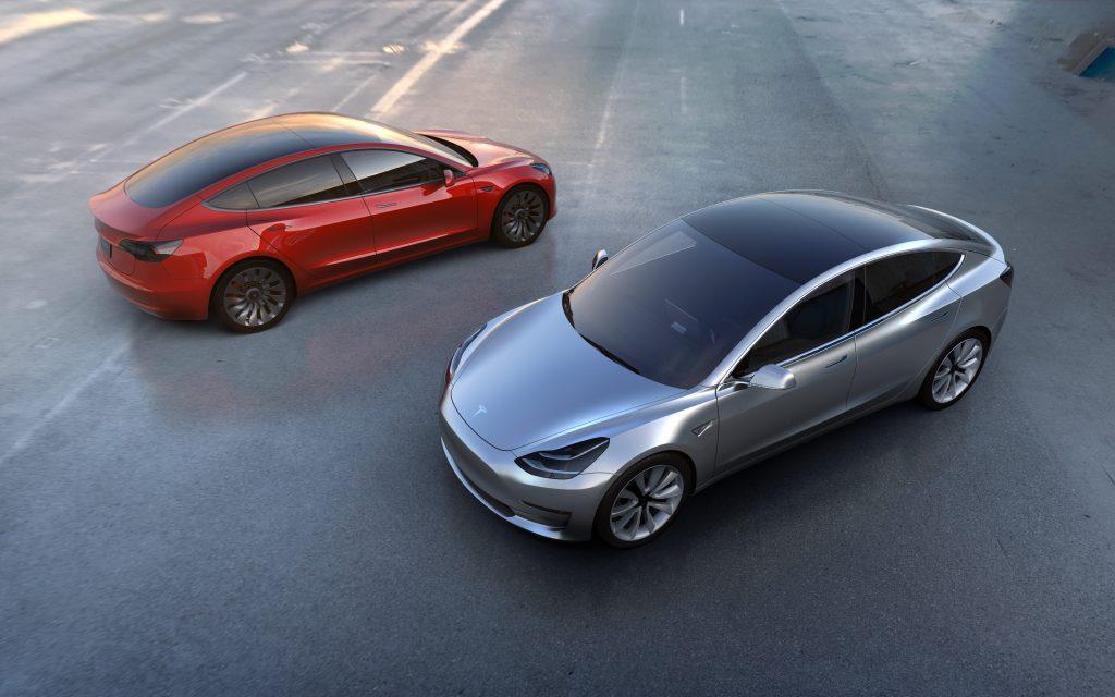 Модели Tesla 3 8к. обои скачать