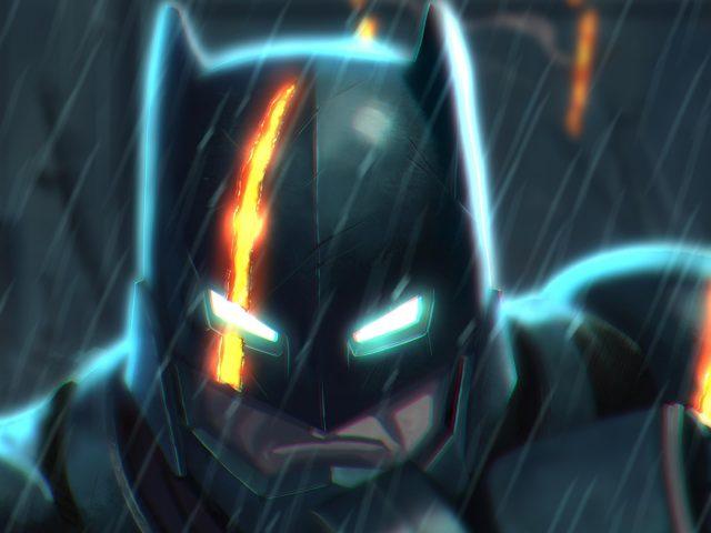 Бэтмен произведения искусства