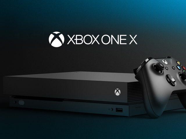 Xbox один х 4к.