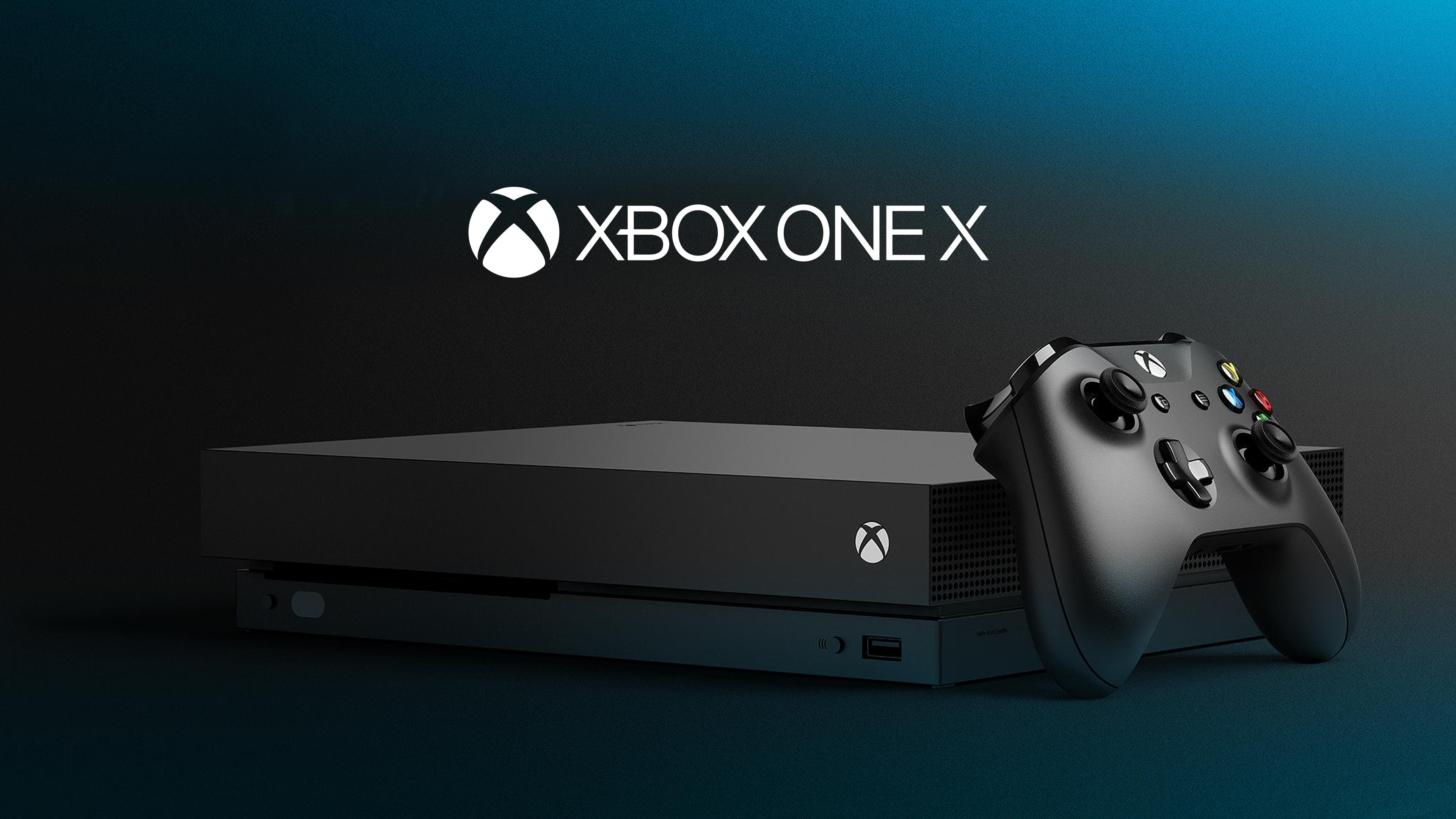 Xbox один х 4к. обои скачать