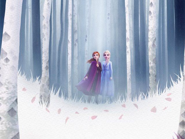 Elsa Анна замороженные 2