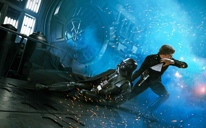 Люк Скайуокер Дарт Вейдер возвращение джедая. обои скачать