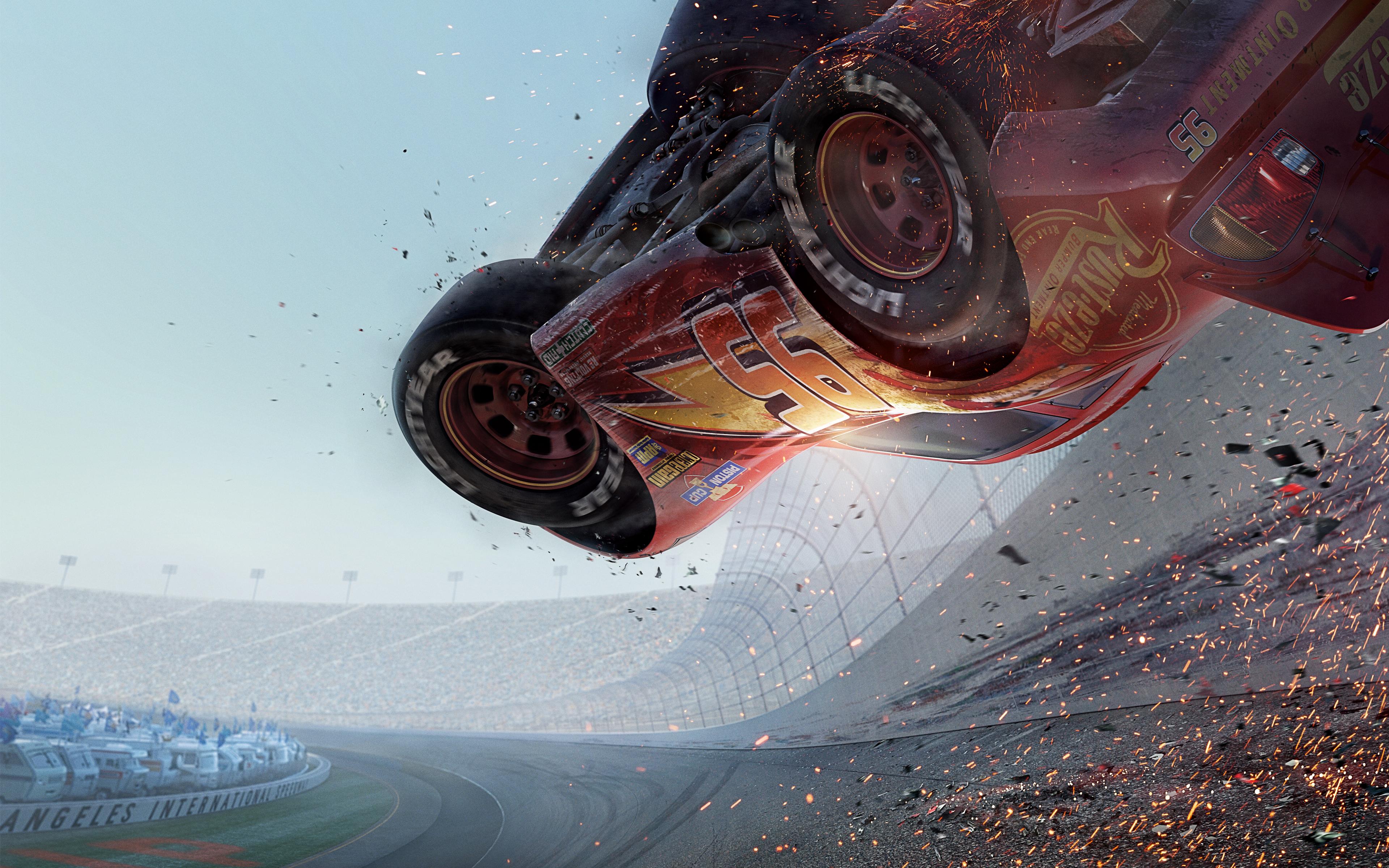 Cars 3 animation 8k. обои скачать