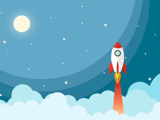 Rocket to moon минимальное художественное произведение