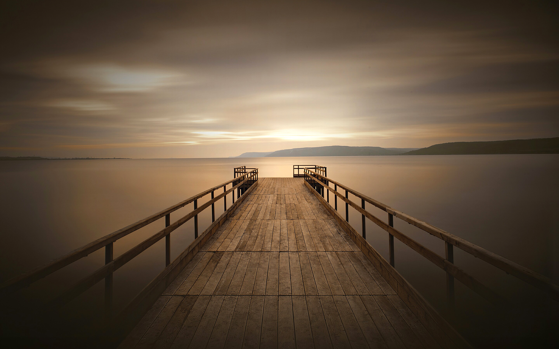 Peaceful dock. обои скачать