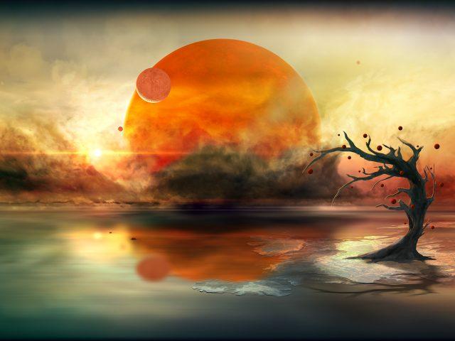 Отражения планеты