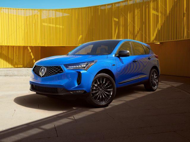 Синие автомобили 2022 acura rdx pmc edition