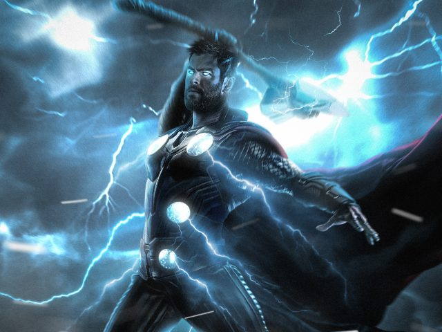 Удар молнии Тора