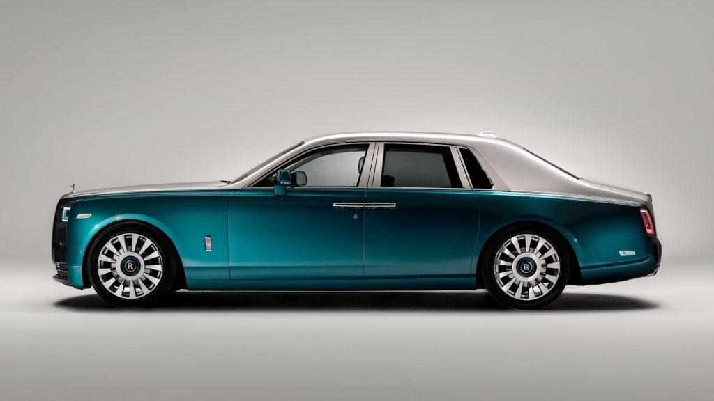Автомобили rolls-royce phantom iridescent opulence 2021 обои скачать