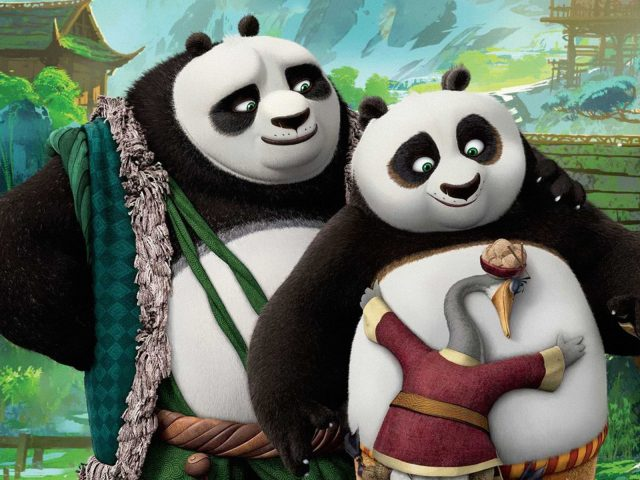 Kung fu panda 3 po's dads.
