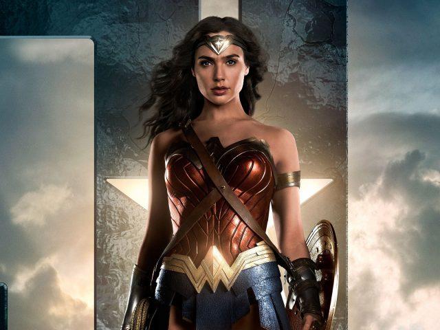 Чудо женщина Лига справедливости.
