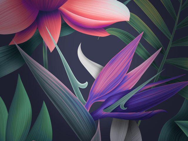 Цветочные Huawei мате 10 акции