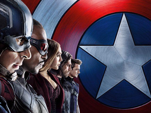 Капитан Америка команда гражданской войны.