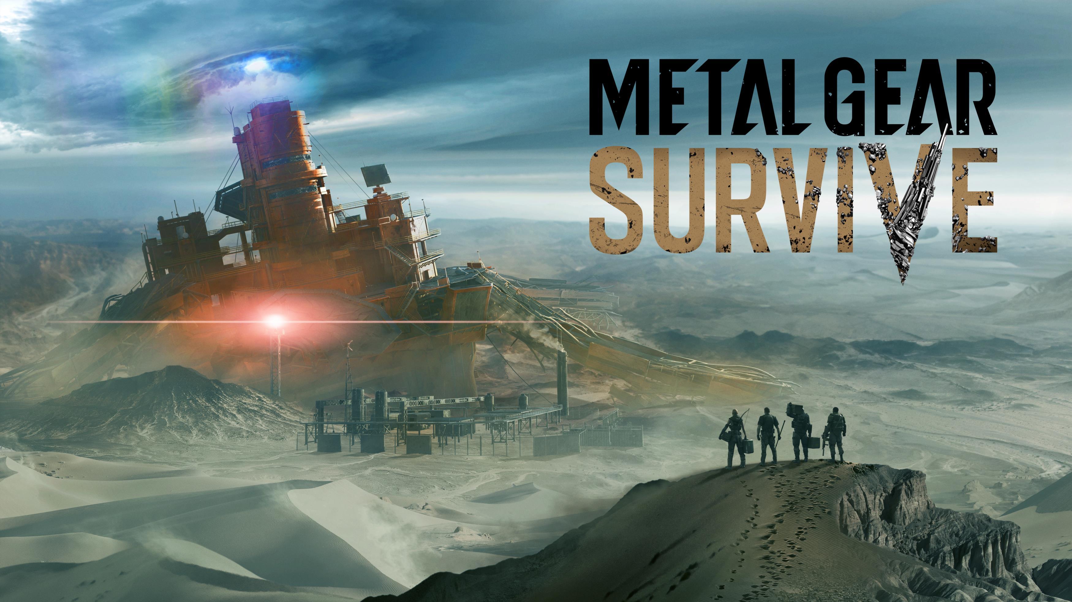 Metal Gear Survive Game обои скачать