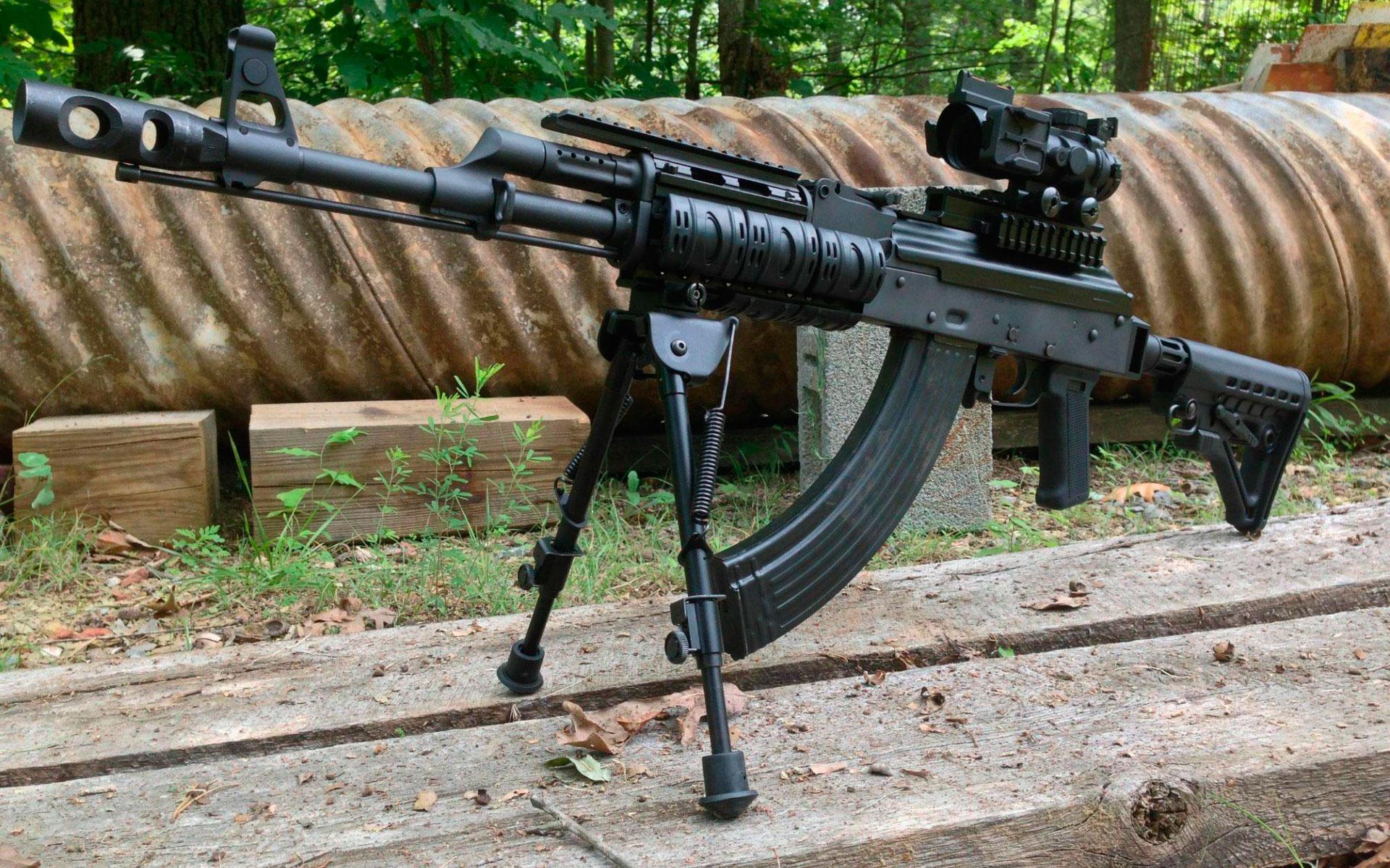 Pecheneg, Печенег, ручной пулемёт ПКП обои скачать