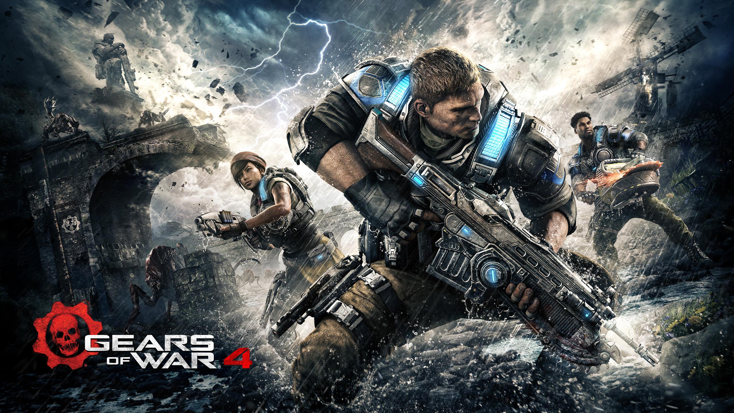 Gears войны 4 каит Джей ди. обои скачать