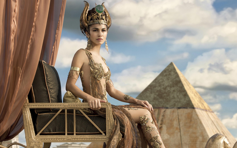Элоди Юнг как хатхор боги Египта. обои скачать